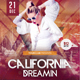California Dreamin - PSD Flyer - GraphicRiver Item for Sale