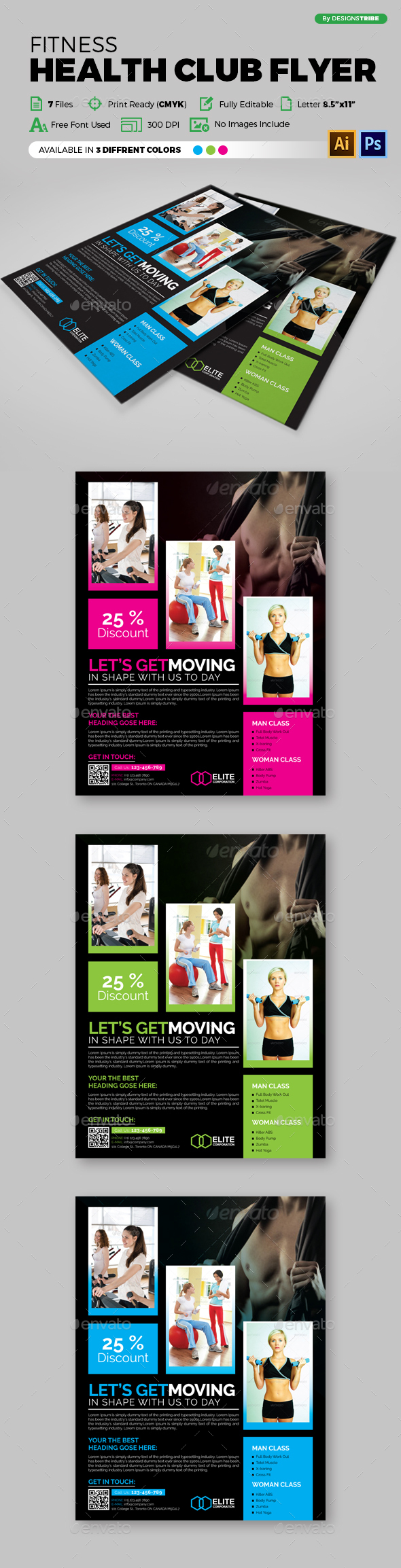 Multipurpose Business Flyer 93 - Flyers Print Templates