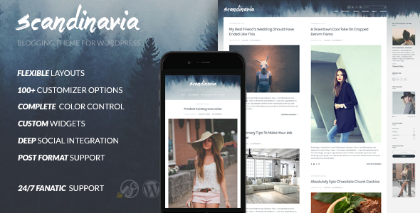 Scandinavia – Blogging Theme For WordPress