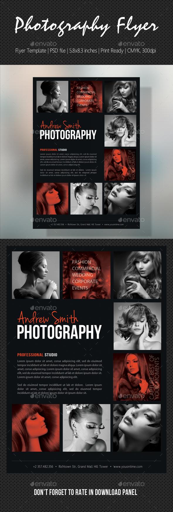 Photography Studio Flyer 17 - Flyers Print Templates
