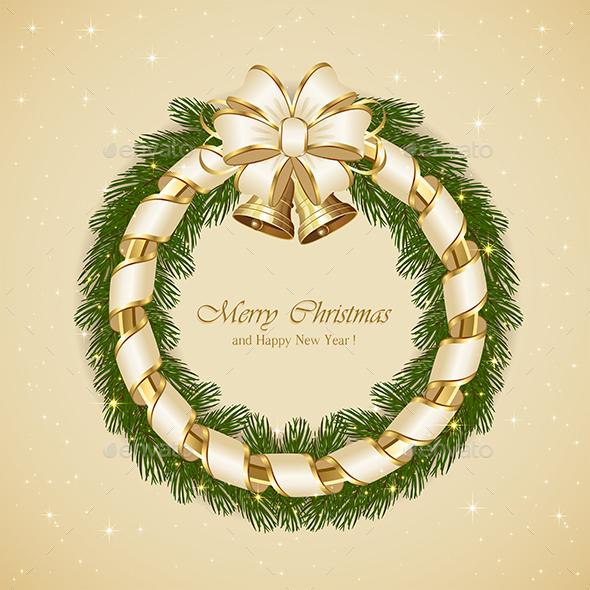 Christmas Decoration with  Bells - Christmas Seasons/Holidays