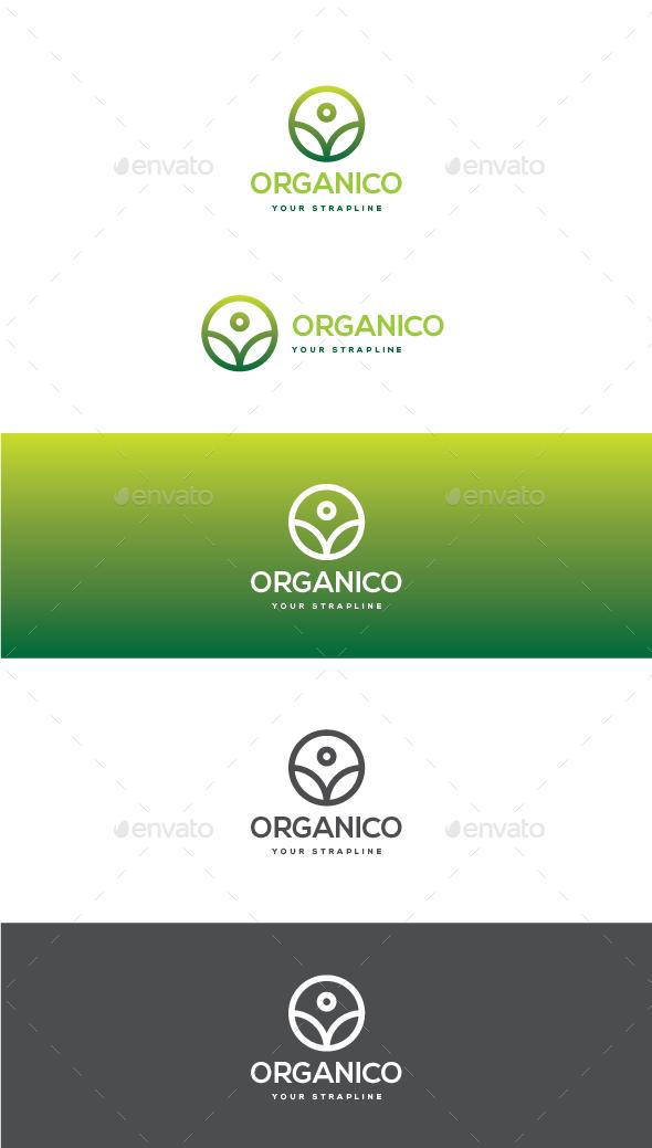 Organico Logo - Symbols Logo Templates