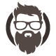 Beard Man Logo