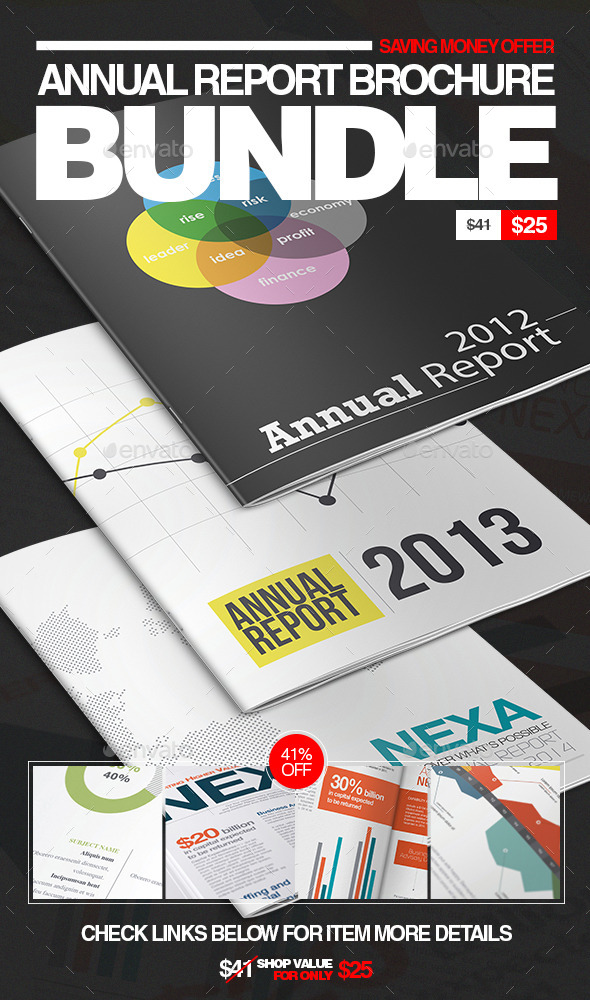 Annual Report Brochure Bundle Vol 1 - Corporate Brochures