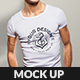 Muscular Men T-Shirt Mockup - GraphicRiver Item for Sale