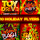 Christmas Holiday Flyer Bundle - GraphicRiver Item for Sale