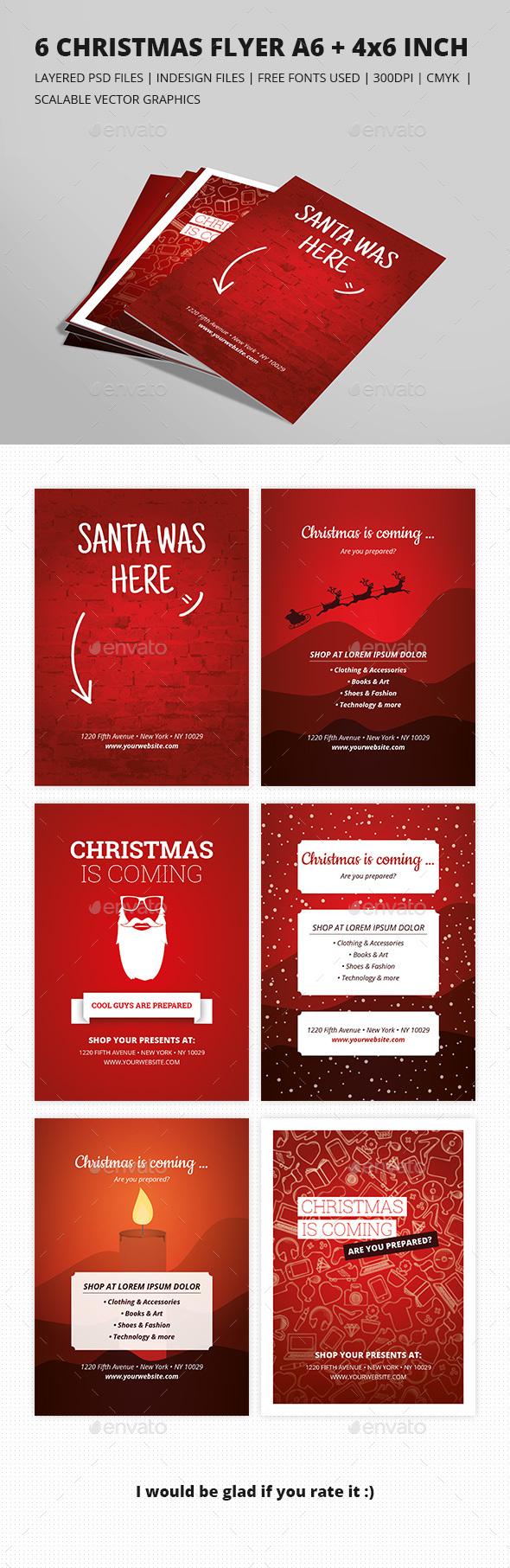 Christmas Sale Flyer - Flyers Print Templates