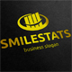 Smile Stats Logo - GraphicRiver Item for Sale