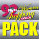 92 Pages Women Shopping Catalog Pack - GraphicRiver Item for Sale