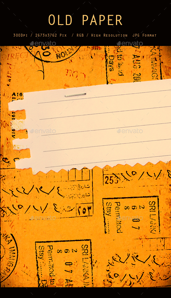 Old Paper 0238 - Textures