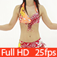 Belly Dancer Red Dress Studio Shoot - VideoHive Item for Sale