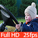 Small Kid Spinning Wheel of the Car - VideoHive Item for Sale