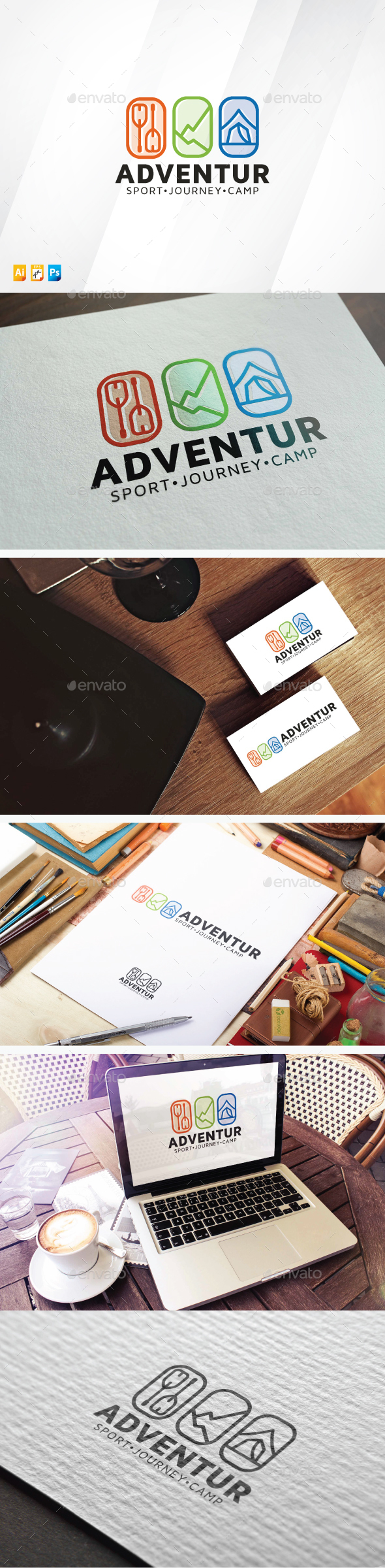 Adventure Logo - Objects Logo Templates