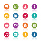 Celebration icons - GraphicRiver Item for Sale