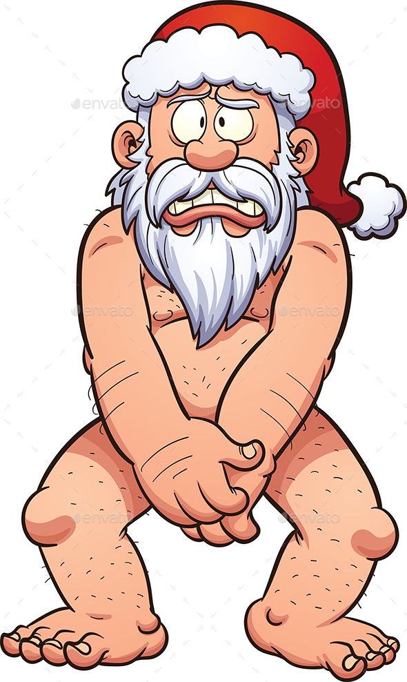 Naked Santa Claus - Christmas Seasons/Holidays