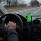 Man Goes Behind The Wheel With The Navigation - VideoHive Item for Sale