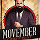 Movember Charity Event - GraphicRiver Item for Sale