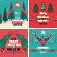 Christmas Cards/Backgrounds - GraphicRiver Item for Sale