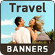 Travel Banner Set - 15 Sizes