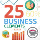 Flat Animated Icons Business Infographics - VideoHive Item for Sale