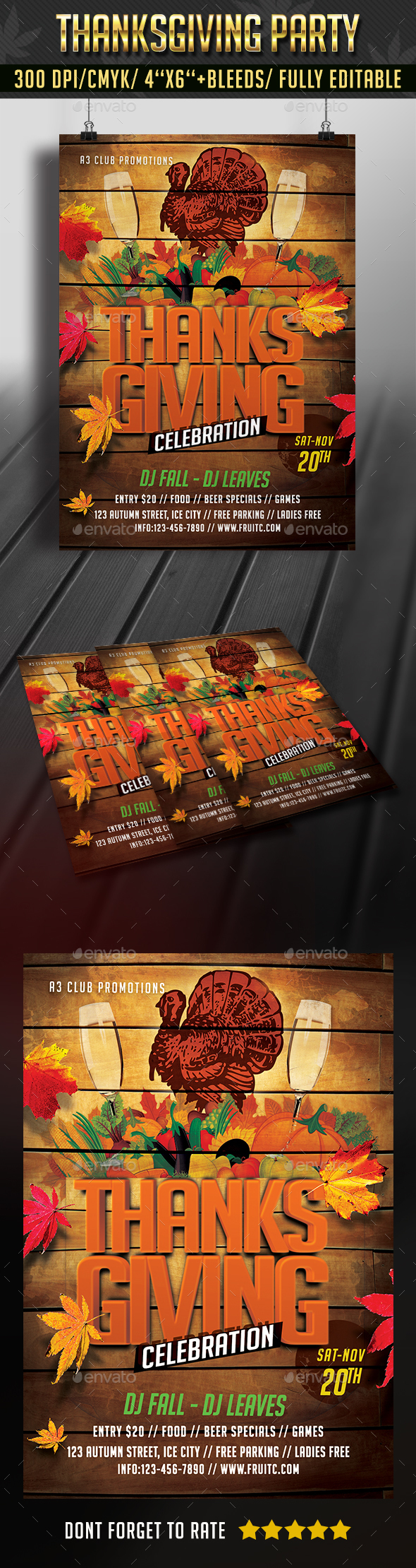 Thanksgiving Party - Clubs & Parties Events