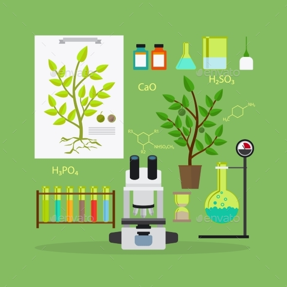 Biology Research Equipment - Health/Medicine Conceptual