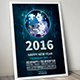 Happy New Year Flyer 2016 - GraphicRiver Item for Sale