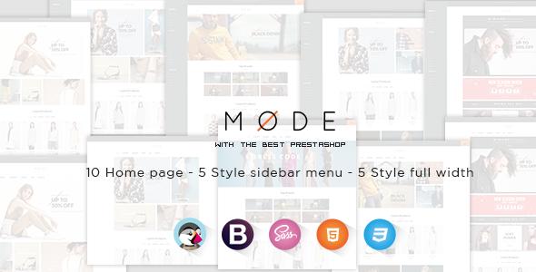 Leo Mode Responsive Prestashop Theme - PrestaShop eCommerce