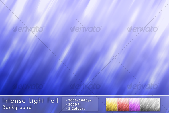 Intense Light Fall - Abstract Backgrounds