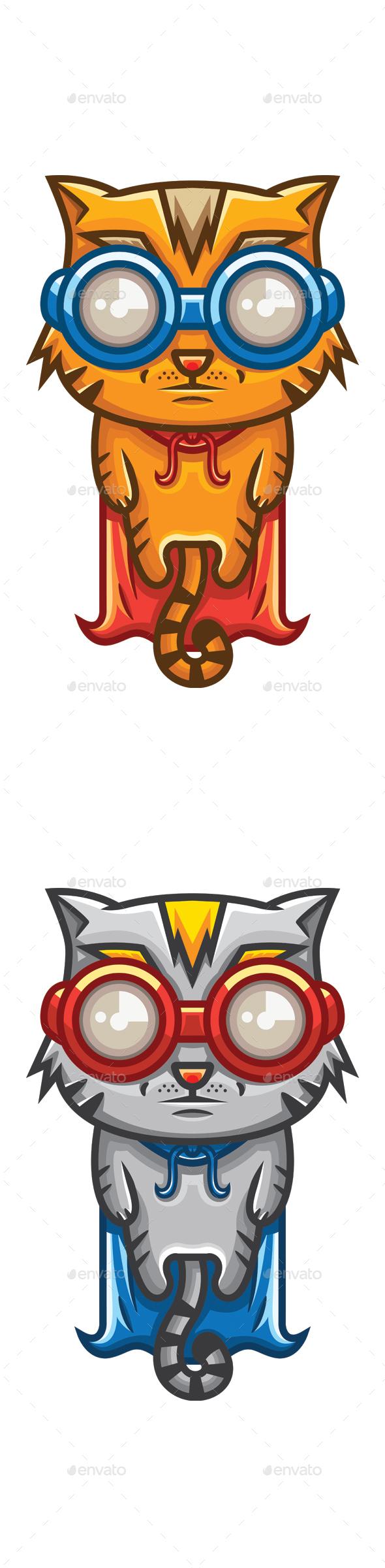 Super Cat - Animals Characters