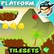 Mountains Platformer Game Tilesets 13 - GraphicRiver Item for Sale