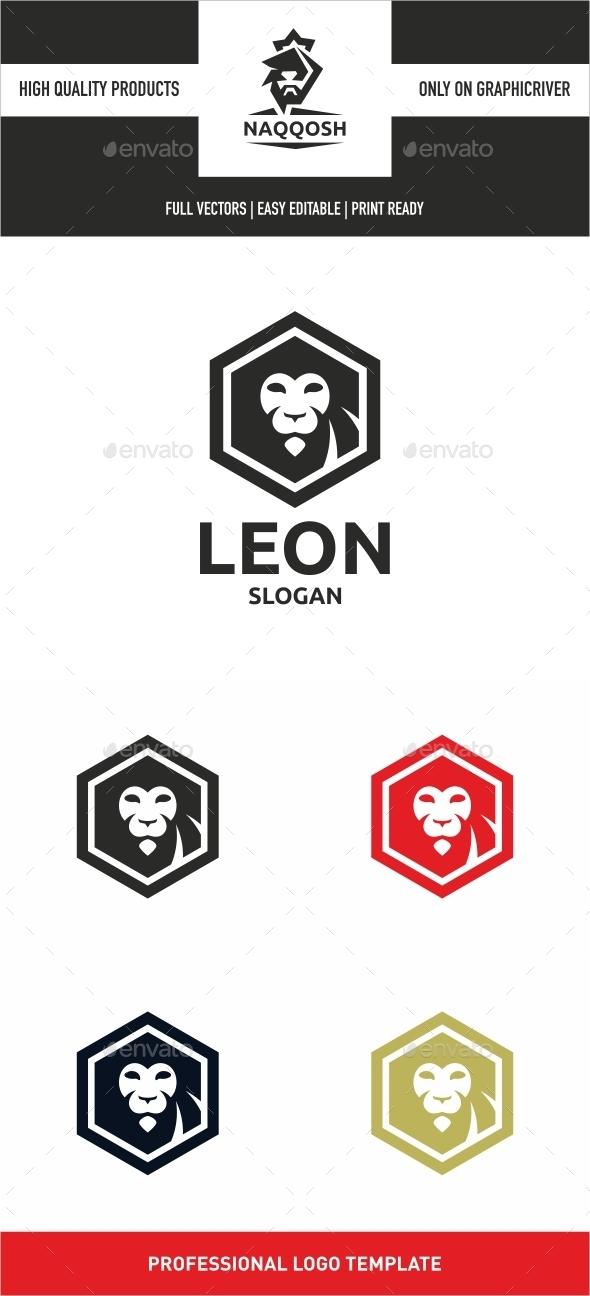 Leon - Animals Logo Templates