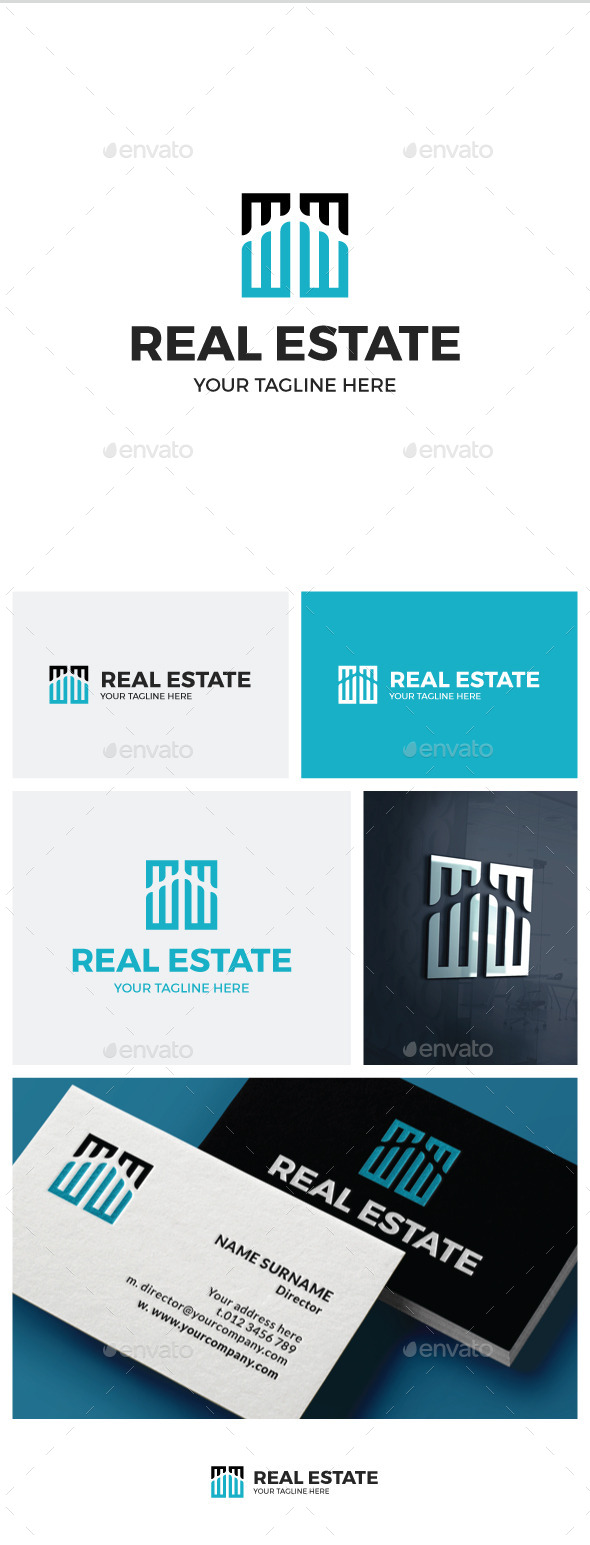 Real Estate Logo - Buildings Logo Templates