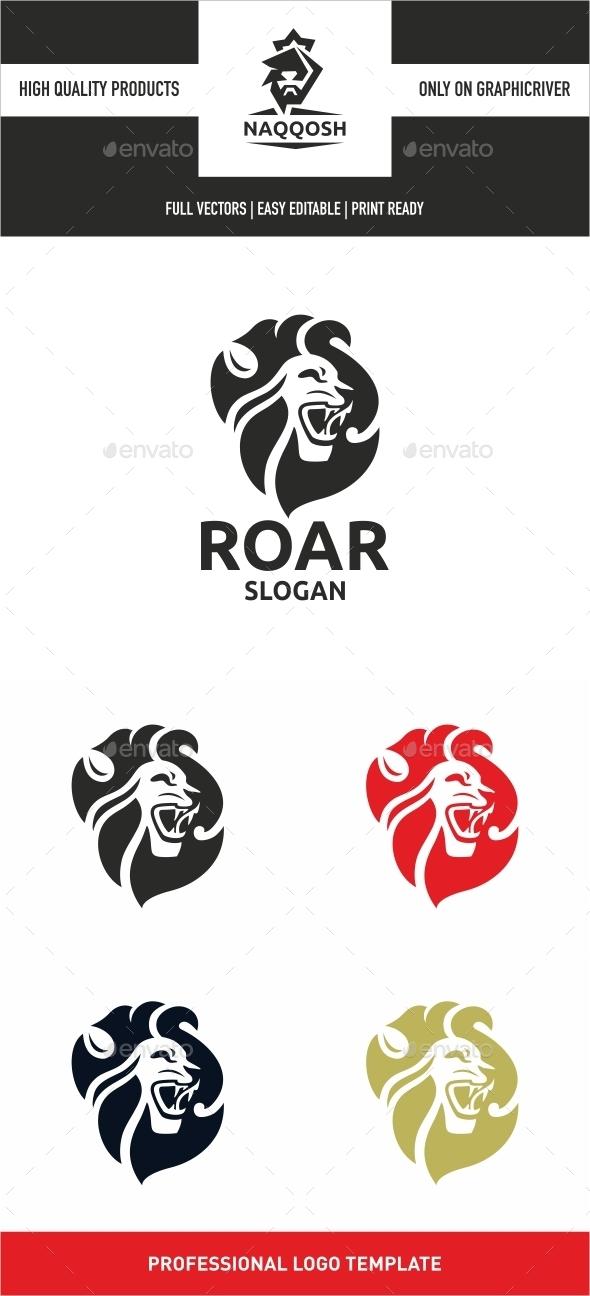 Roar - Animals Logo Templates