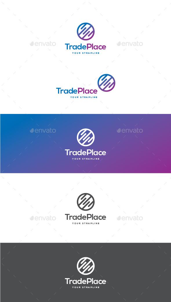 Trade Place Logo - Symbols Logo Templates