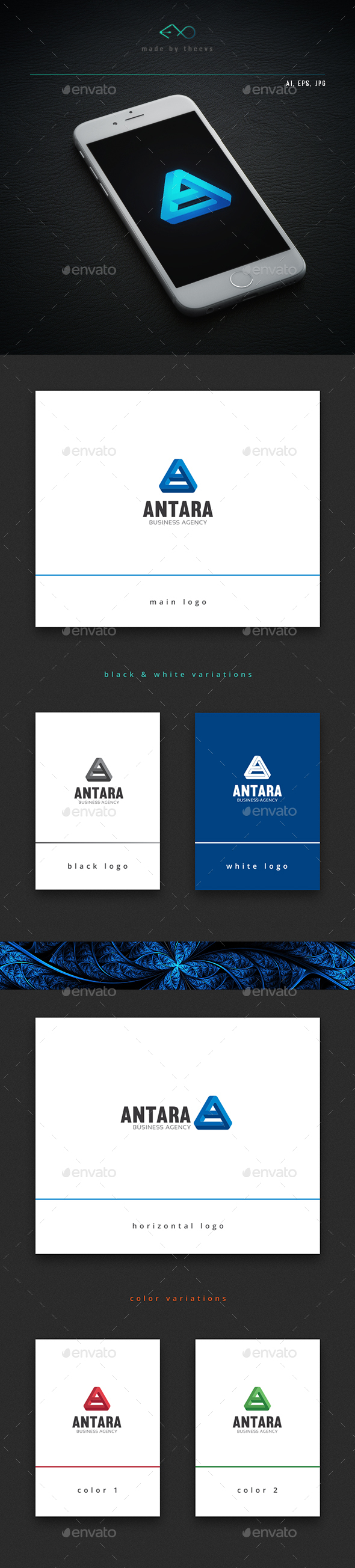Antara - Letters Logo Templates