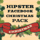 Hipster - Facebook Christmas Pack - GraphicRiver Item for Sale