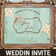 Vintage Theme Wedding Invitation Suite - GraphicRiver Item for Sale