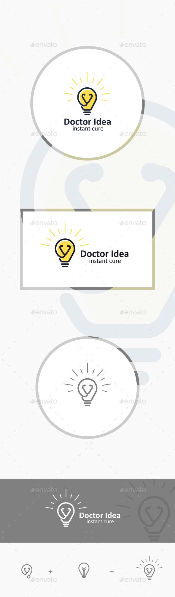 Doctor Idea - Symbols Logo Templates