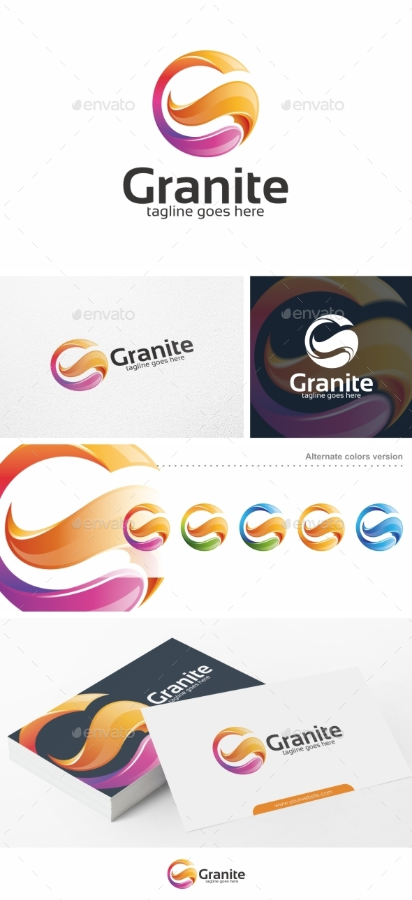 Granite letter g logo template by putrapurwanto graphicriver granite letter g logo template letters logo templates spiritdancerdesigns Choice Image