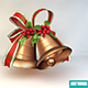 Christmas bell - 3DOcean Item for Sale