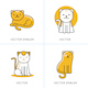 Cat Icons and Illustrations - GraphicRiver Item for Sale