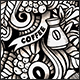 2 Coffee Doodles Graphics Seamless Patterns - GraphicRiver Item for Sale
