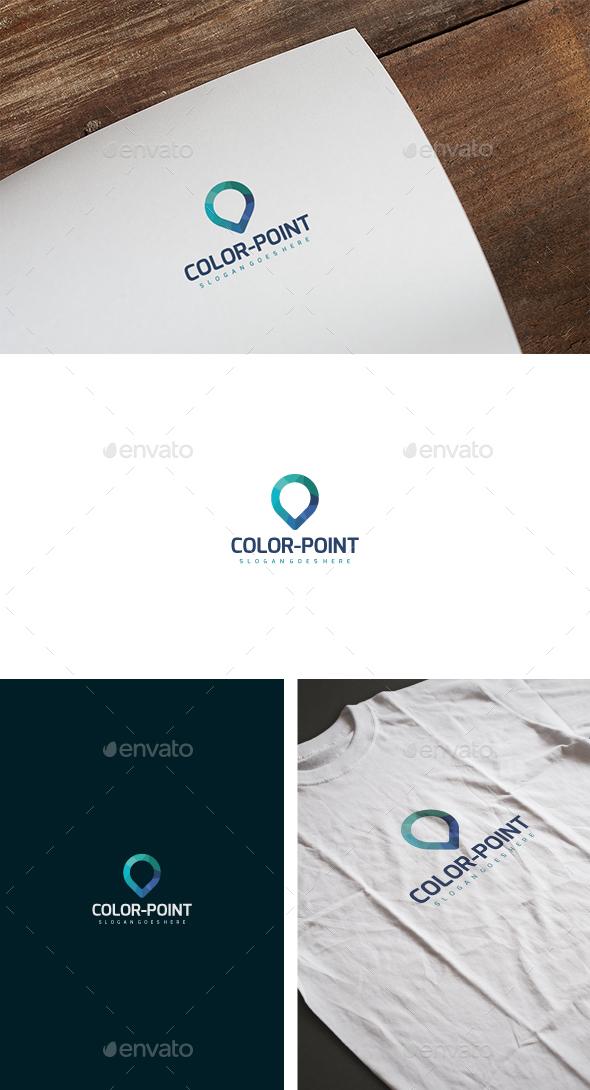 Color Point Logo - Abstract Logo Templates