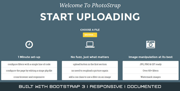 Photostrap - CodeCanyon Item for Sale