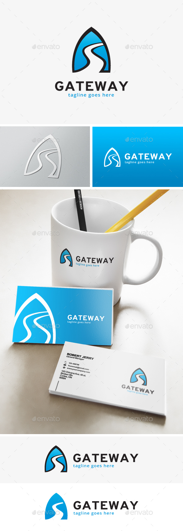 Gateway Logo - Objects Logo Templates