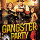 Gangster Party - GraphicRiver Item for Sale