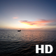 Sunset on Maldives with Waterplane - VideoHive Item for Sale