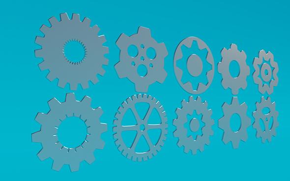Gears 12 - 3DOcean Item for Sale