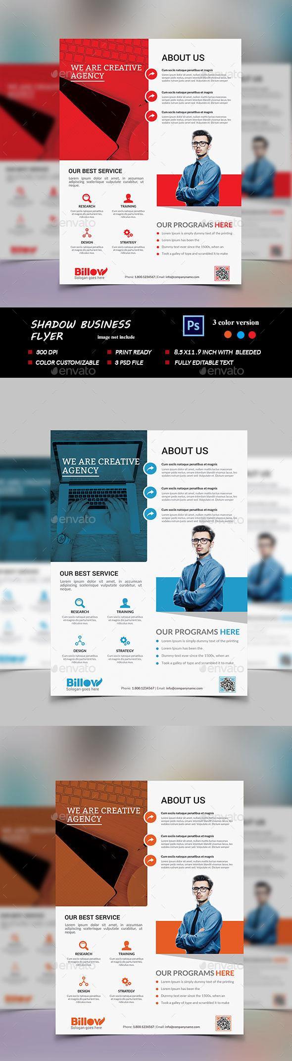 Modern Business Flyer Template - Flyers Print Templates
